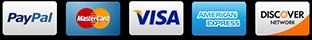 Zahlung per Kreditkarte, Lastschrift oder PayPal