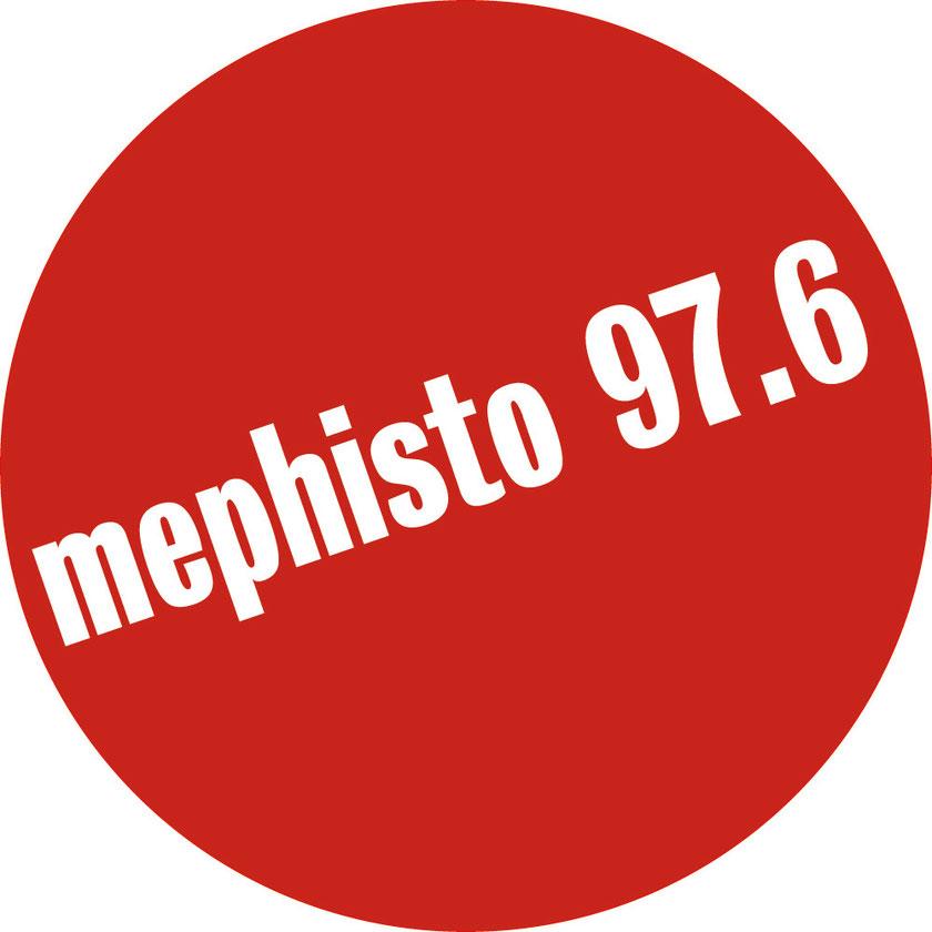 (Bild: Das offizielle Logo von mephisto 97.6 - dem Lokalradio der Universität Leipzig)